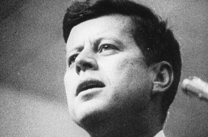Primary John F. Kennedy in 1960