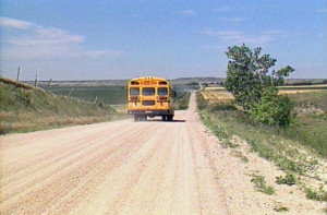 Auction School Bus Goodbye
