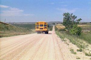 Auction School Bus Goodbye